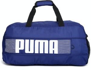 Puma Pioneer Sports Travel Duffel Bag ( Blue ) c5441b2ddfa53