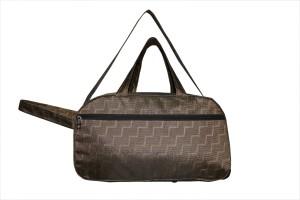 One Up Waterproof Brown-1 Trolley (Expandable) Duffel Strolley Bag