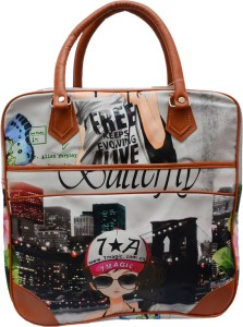 Ruff Digital Printed Women's Duffle bag 11 inch/30 cm (Expandable) Travel Duffel Bag