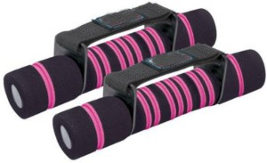 Shrih Soft Foam With Velcro Closure Strap Fixed Weight Dumbbell