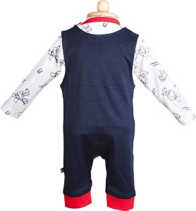 e3249a24d81b WOW Romper For Boys Embellished Cotton Dark Blue Best Price in India ...