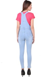 ae0b0d9d08c3 Broadstar Women s Light Blue Dungaree Best Price in India ...