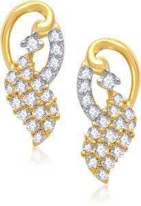 VK Jewels Amazing Cubic Zirconia Alloy Stud Earring