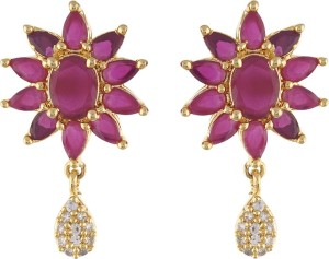 Aarushi Beautiful Cubic Zirconia Alloy Stud Earring