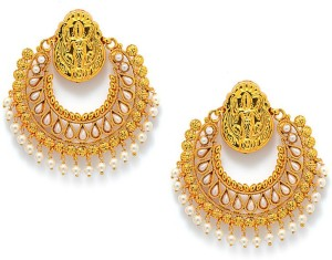 Alankruthi Designer Copper Chandbali Earring Best Price In India