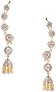 Jewels Galaxy Cubic Zirconia Alloy Cuff Earring