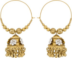Luxor Navratri Special Earrings Metal Jhumki Earring