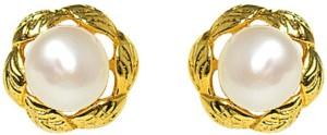 MP Fine Jewellery Designer Fresh Water Tops Zircon Alloy Stud Earring