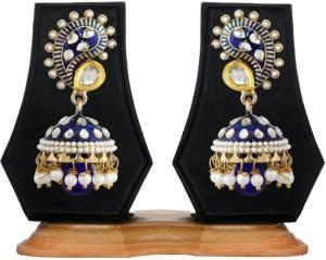 Styylo Jewels Diva Style Pearl Alloy Jhumki Earring