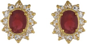 Classique Designer Jewellery Glossy Pearl Alloy Stud Earring