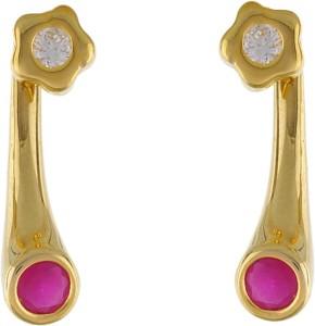 Aarushi Fashion Cubic Zirconia Alloy Drop Earring
