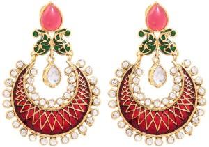 GoldNera Ambi Shape Design Alloy Drop Earring