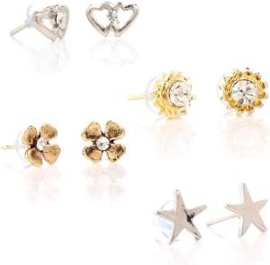 GoldNera Superb Alloy Earring Set