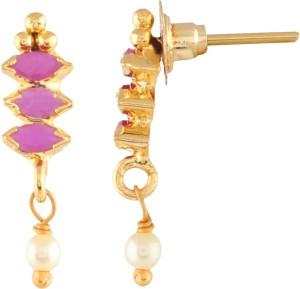 8c76df5fc Vidhi Jewels Peacock Diamond Studded Body Cubic Zirconia Alloy Brass ...