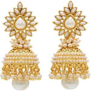 Jewels Capital Diva Style Copper Jhumki Earring
