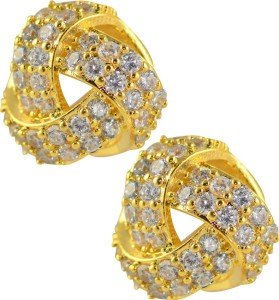 Glitters Online 24 Ct Gold Plated Cubic