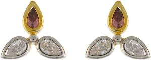Aarushi Ethinc Cubic Zirconia Alloy Stud Earring