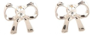 GoldNera Bowstud Alloy Stud Earring