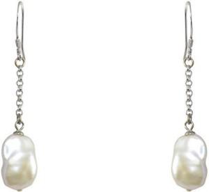 MP Fine Jewellery Fresh Water Tops Pearl Alloy Dangle Earring