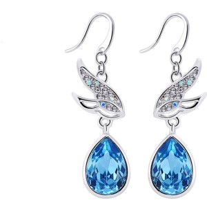 ae5720309 Yellow Chimes Flying Birds Swarovski Crystal Alloy Dangle Earring Best  Price in India | Yellow Chimes Flying Birds Swarovski Crystal Alloy Dangle  Earring ...