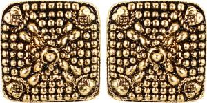 GoldNera Rocky Mountain High Alloy Stud Earring