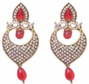Jewels Gehna Cubic Zirconia Alloy Chandbali Earring