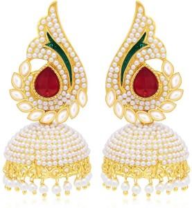 Angel In You Diva Style Copper Jhumki Earring
