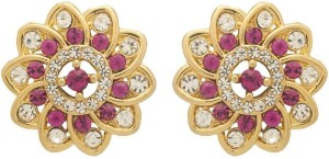 NIA for Voylla Artificial Classic Embellished Crystal Alloy Stud Earring