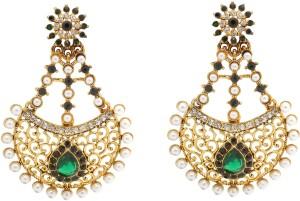 Rich Lady Princess Delight Alloy Chandbali Earring