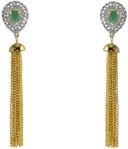 MP Fine Jewellery Designer Tops For Women Zircon Alloy Drop Earring