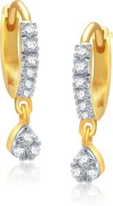 VK Jewels Brass, Alloy Hoop Earring