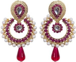 Jewels Gehna Cubic Zirconia Alloy Chandelier Earring