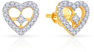 523e477089a9b Malabar Gold and Diamonds E652087 Yellow Gold 18kt Diamond Stud Earring