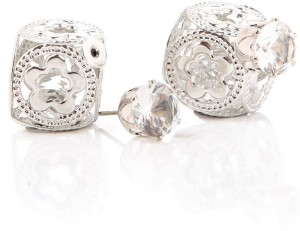 GoldNera baby Flower Solitaire Alloy Stud Earring