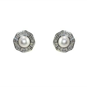 MP Fine Jewellery Sparkling Pair Of Tops Zircon Alloy Stud Earring