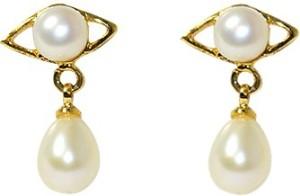 MP Fine Jewellery Designer Tops Pearl Alloy Drop Earring