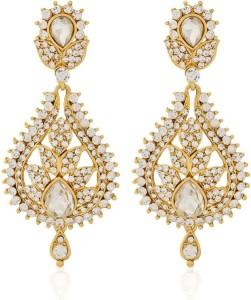 Jewels Gehna Cubic Zirconia Alloy Dangle Earring