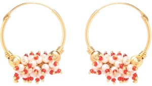 GoldNera Some Days are Diamond Alloy Hoop Earring