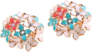 Shimmer Divine Luxuria Cubic Zirconia Alloy Stud Earring