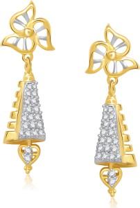 VK Jewels Fancy Cubic Zirconia Alloy Jhumki Earring