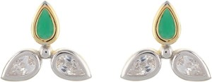 Aarushi Contemporary Cubic Zirconia Alloy Stud Earring