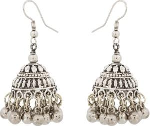 Luxor Navratri Special Jhumkhi Metal Jhumki Earring