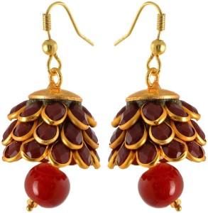 Waama Jewels Wedding jewellery Women Gift Girl in Party Brass Jhumki Earring