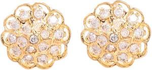 Tsquare Akshata Cubic Zirconia Brass Stud Earring