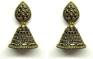GoldNera Time Aftet Time Alloy Jhumki Earring