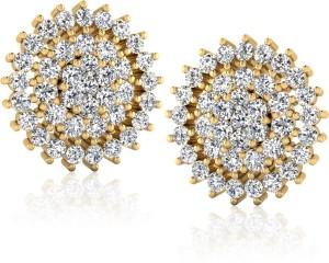 168de1da5159 IskiUski Sundrops Swarovski Crystal Sterling Silver Stud Earring Best Price  in India