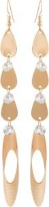 Voylla Artificial Classic Plain Cubic Zirconia Alloy Dangle Earring