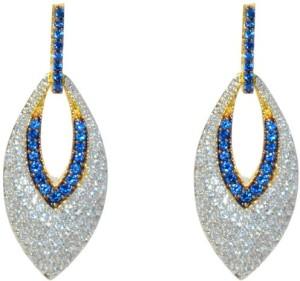MP Fine Jewellery Attractive Pair Of Tops Zircon Alloy Drop Earring