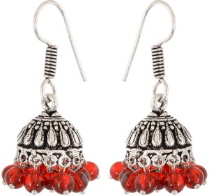 Waama Jewels Wedding jewellery Women Gift Girl in Party Pearl Brass Jhumki Earring