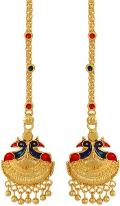 GoldNera Kanchain Bliss Brass Dangle Earring
